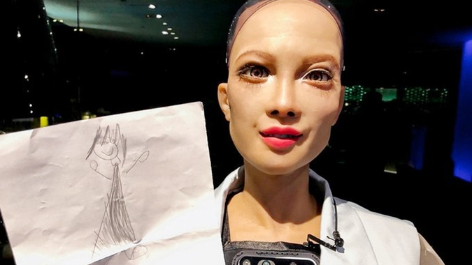Sophia, the first android with citizenship, now wants to have a robot baby